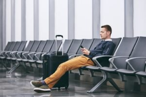 waiting at Airport